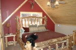 Cabin at the lake bedroom 1 med